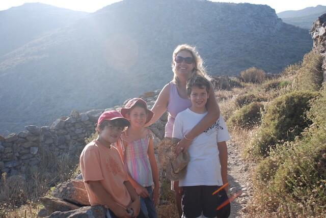 Amorogos hiking